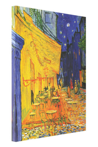 Cafe Terrace at Night by Van Gogh Fine Art Giclee CANVAS Print Gallery Wrap Lrg