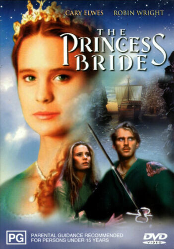 The Princess Bride - Cary Elwes, Robin Wright, Andre The Giant - DVD