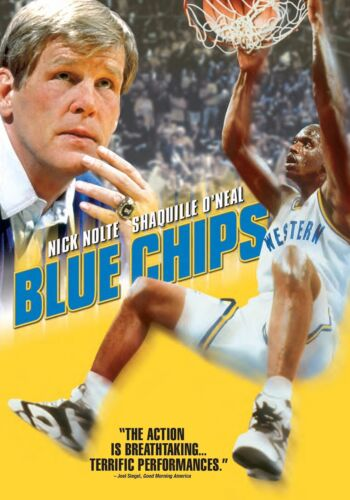 Blue Chips (Nick Nolte, Penny Hardaway Shaquille O'neal) New Region 1 DVD