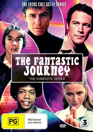 The Fantastic Journey - Complete Series DVD 1970s Cult Sci-Fi