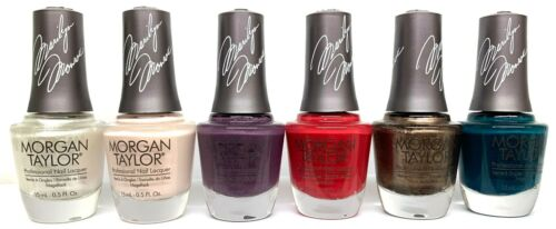 MORGAN TAYLOR Nail Lacquer - Pick any Color from FOREVER MARILYN Collection