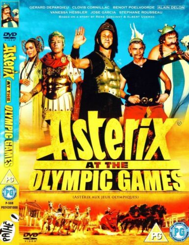 Asterix at the Olympic Games (Gerard Depardieu, Clovis Cornillac) Region 2 DVD