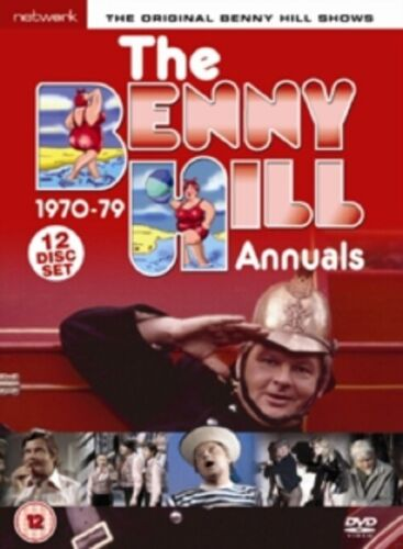 Benny Hill The Benny Hill Annuals 1970-1979 1970 1979 New Region 2 DVD Box Set
