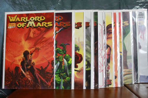 Warlord Of Mars Issues 1 - 16 2010 Dynamite Comics