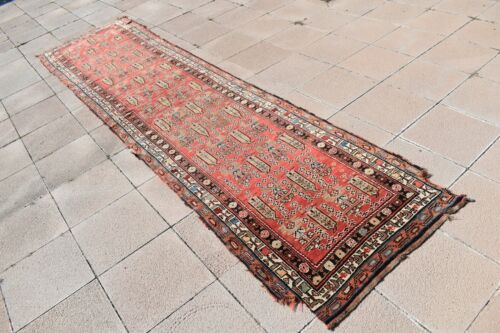 Fabulous Antique Awesome Caucasian Collectors Piece Distressed Shabby Chic Rug