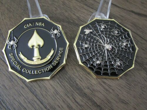 Central Intelligence Agency Special Collection Service CIA NSA Challenge CoinChallenge Coins - 74710