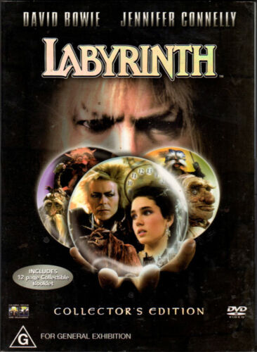 Labyrinth - David Bowie, Jennifer Connelly - DVD with slipcover