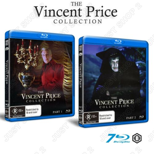 The Vincent Price Collection : 7 Disc Set Blu-ray : Brand New & Sealed (RARE)