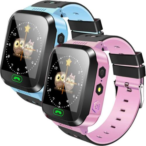 GPS Kids Tracker Smart Watch With Camera Waterproof Games Flashlight Call