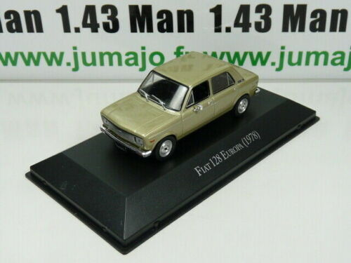ARG19G Voiture 1/43 SALVAT Autos Inolvidables : Fiat 128 Europa (1978)
