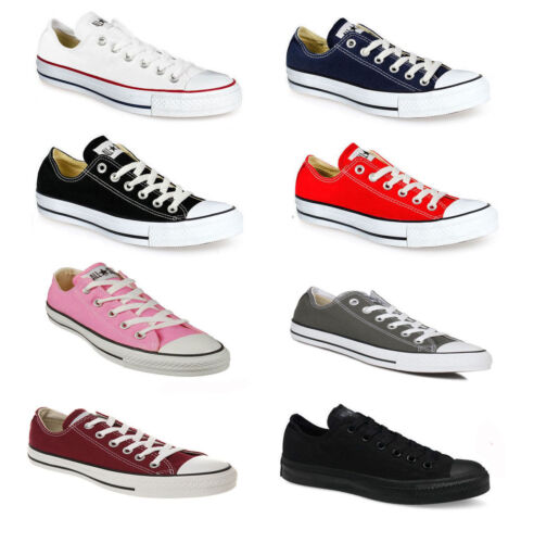 Converse CT All Star Low Unisex Trainers Casual Summer Canvas New Sneakers BNIB