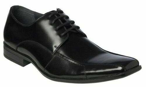 NEW MENS JULIUS MARLOW REJOICE FORMAL BLACK DRESS WORK BUSINESS LEATHER SHOES