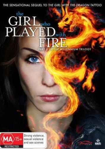 THE GIRL WHO PLAYED WITH FIRE : NEW DVD