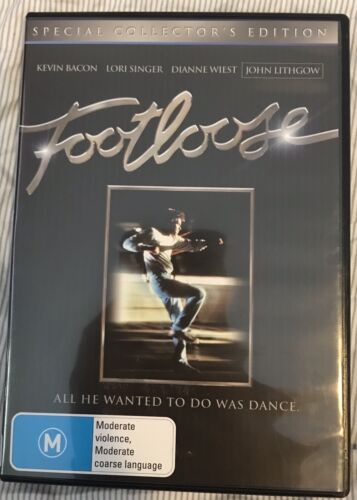 Footloose Kevin Bacon Dvd Movie Very Good Cond
