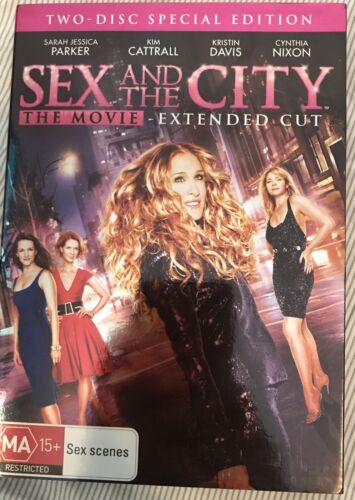 Sex And The City The Movie Dvd Movie Very Good Cond