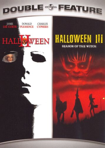 Halloween 2 & 3 (Tom Atkins, Jamie Lee Curtis) Two And Three New Region 1 DVD