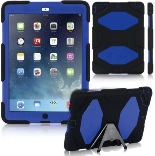 Griffin Survivor iPad Pro 12.9 Griffin Survivor Heavy Duty Case iPad Pro Blue