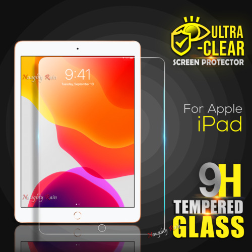 For iPad 7 7th Generation 8 8th Gen 10.2 inch Tempered Glass Screen Protector