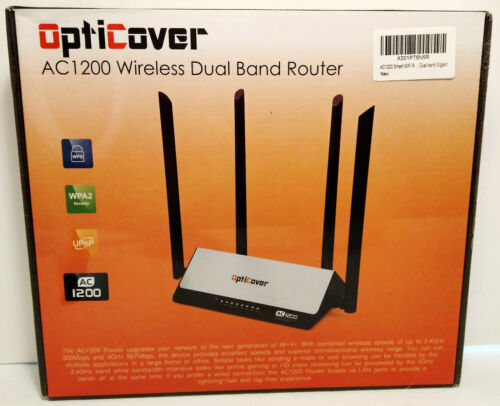 OptiCover AC1200 Wireless Dual Band Router