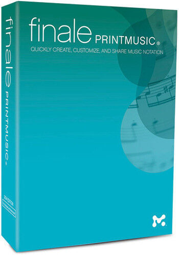 NEW Make Music Finale Print music 2014 Notation Digital Download PC