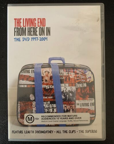 THE LIVING END 'From Here On In - The DVD 1997-2004' Documentary and Film Clips