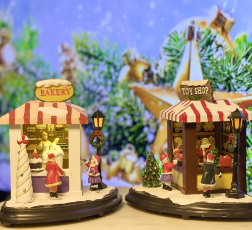 Santa's Toy And Bakery Shop - Christmas Village