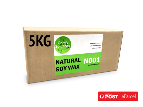 Natural Soy Wax  Candle Making Supplies Crafts [ 5kg ]