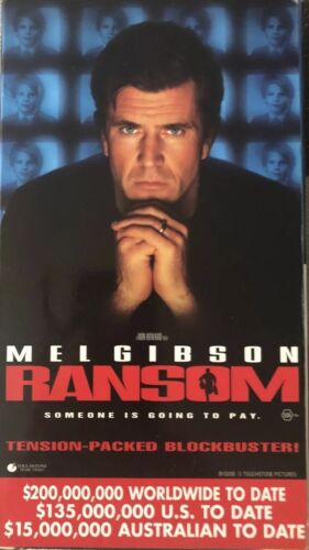 Ransom+Jack 1997 VHS Double Feature Rare Gatefold Video Store PROMO COPY Preview