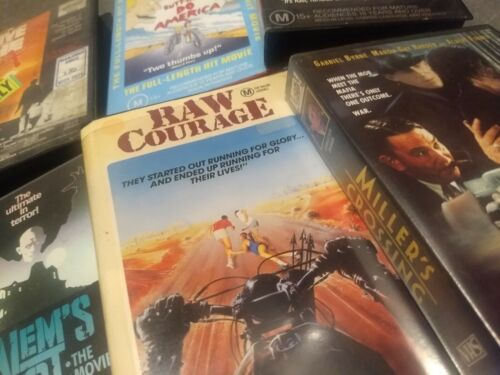 VHS CLEAROUT FROM $3 - ROADSHOW VIDEO CLASSICS PALACE CIC FOX - BULK SHIPPING