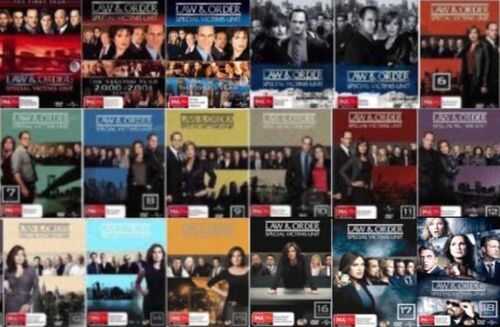 Law & And Order SVU Series Seasons 1-20 New Dvd Sets Oz Region 4 R4