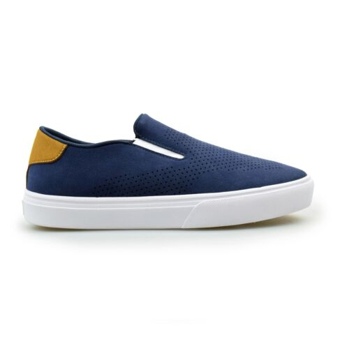 Etnies Cirrus Lifestyle Chill Mens Navy Tan Skate Trainers New Clearance Sale