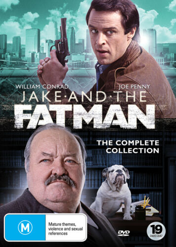 Jake and the Fatman - Complete Series Collection DVD (New/Sealed)
