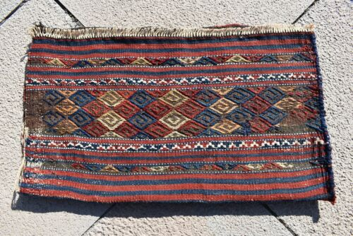 Wonderful Antique Awesome Collector's Anatolian Completely Kilim Rolling Pin Bag