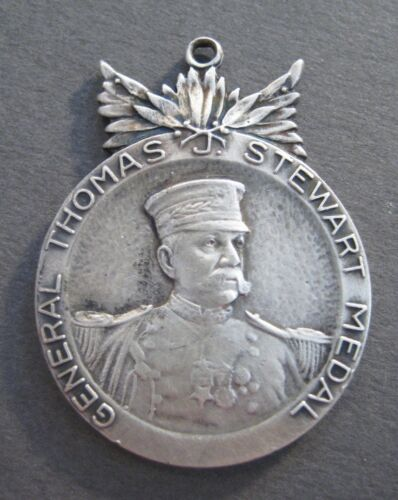 Gen. Thomas J. Stewart Pennsylvania National Guard Sterling Silver Medal - PNGNational Guard - 66532