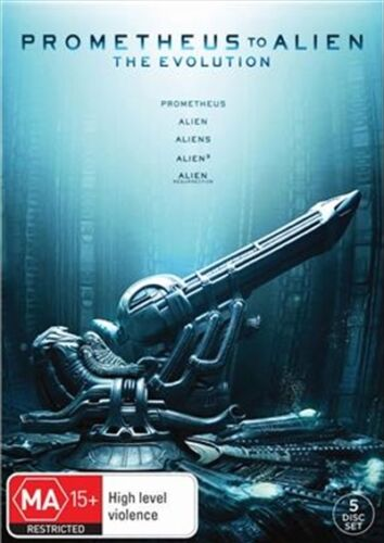 Prometheus To Alien : The Evolution Collection : NEW 5-DVD