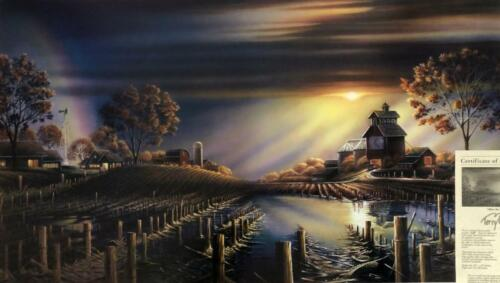 Terry Redlin After the Storm Farm Country Art Print-Numbered 32 x 18.5