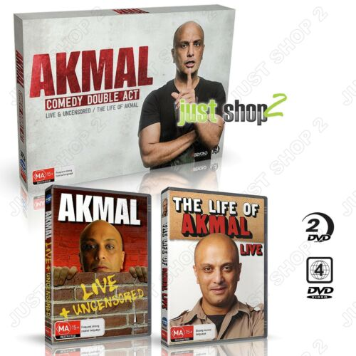 The Life Of Akmal + Akmal Live : Comedy / Comedian / : New & Sealed DVD Boxset