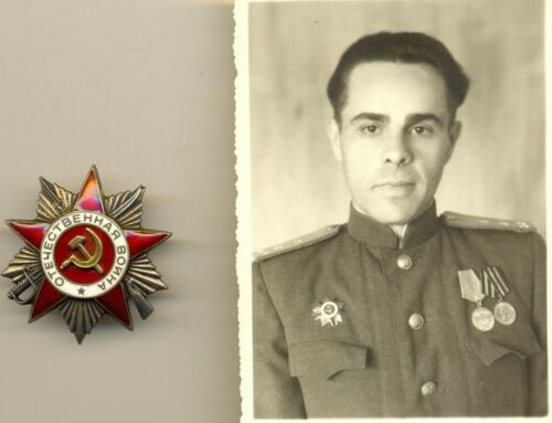 Soviet ORDER OF THE GREAT PATRIOTIC WAR GPW 2nd Class red star Low num (1568)Medals, Pins & Ribbons - 165608
