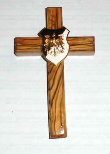 Medieval Holy Crusades Teutonic Eagle Knight Olive Wood Battle Cross Symbol WallReenactment & Reproductions - 156374