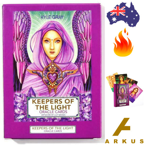 KEEPERS OF THE LIGHT Oracle Cards - 44 Card Deck by Kyle Gray NEW