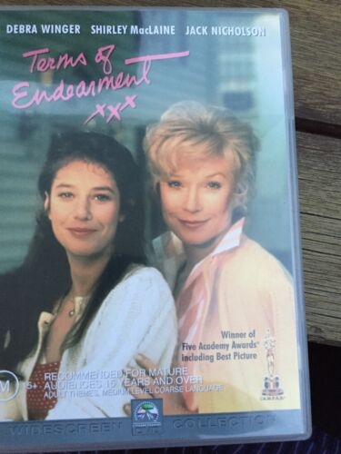 Terms Of Endearment - Academy Gold Collection (DVD, 2009) jack nicholson