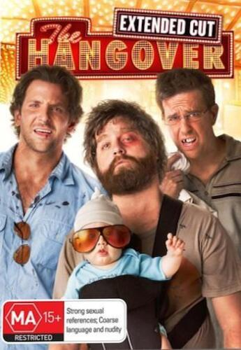 THE HANGOVER 1 : NEW DVD