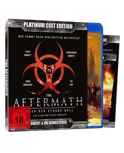 The Aftermath 1982 - Uncut Platinum Cult Limited Edition Blu-Ray+DVD New