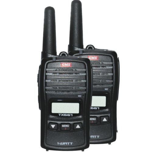 GME 1W UHF Transceiver TX667TP Twin Pack