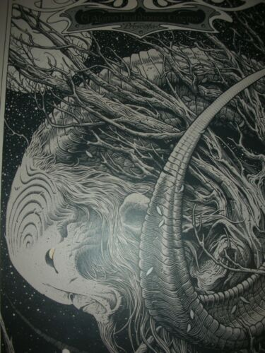Pan's Labyrinth Variant Aaron Horkey Poster Mondo Del Toro Silk Screen Print
