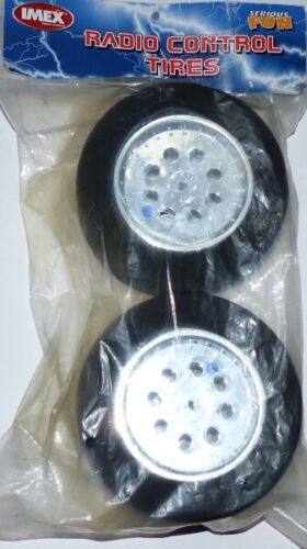 Imex Radio Control 7440 Mounted foam tyres with rims Blue Dot