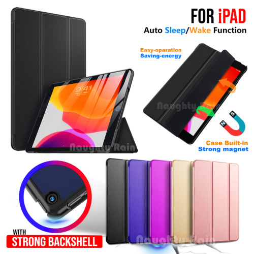 Case For Apple iPad 9.7 10.2 inch 7th 6th 5th Gen Air Leather Stand Folio Cover