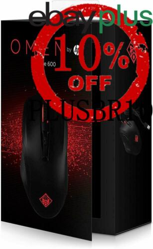 OMEN 600 Laser Gaming Mouse 12000 DPI Sensor Wired USB Cable 6 Buttons Black