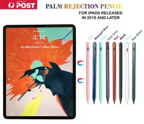 Alternative Stylus for Apple Pencil 2 & 1 gen PALM REJECTION for iPad 2018-2020