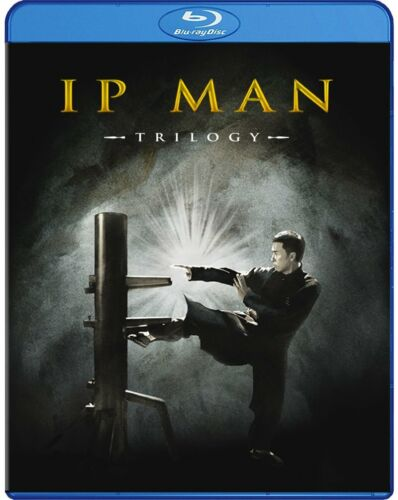 The Ip Man Trilogy (Donnie Yen) New Region B Blu-ray Ip man 1 ,2 and 3